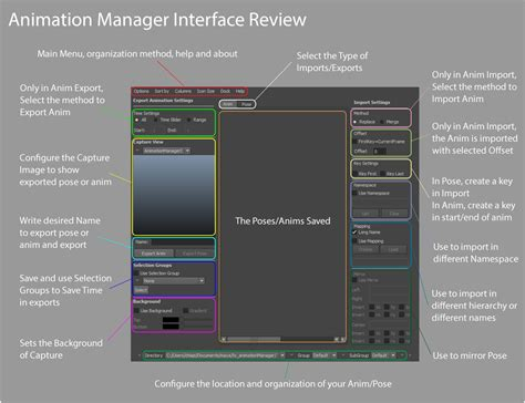 Animation Manager For Maya Organizes Poses, Selections And