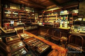 Cigar Shop Photograph by Yhun Suarez