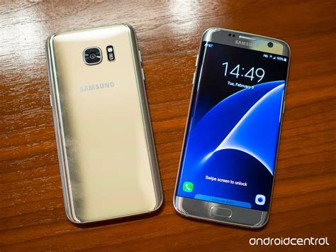 s7 edge samsung galaxy s7 and s7 edge in pictures android central