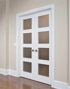 porte francaise double avec verrou encastre et astragale With porte de garage et double porte salon