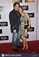 Ming Na Wen and husband - Push Premiere at the Westwood ...