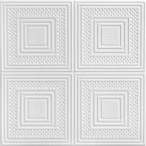 a la maison ceilings nested squares 1 6 ft x 1 6 ft foam