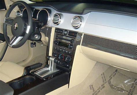 mustang pc interior dash trim kit