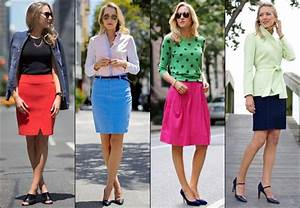 Office Wear Fashion Tips What to Wear to Work from Formal to Casual (Part 2) | Gorgeautiful.com