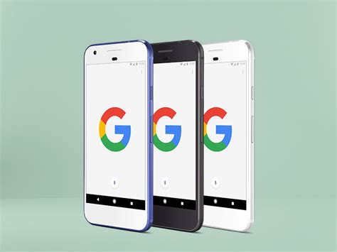 When you are going to present some of your great collection designs in front of you clients. Google Pixel Psd mockup - Uplabs