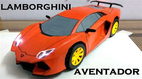 How To Make A Lamborghini by How To Make Electric Car Lamborghini Aventador Using
