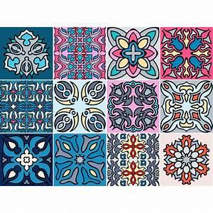 Stickers Carreaux De Ciment : 12 stickers carreaux de ciment australia salle de bain ~ Melissatoandfro.com Idées de Décoration