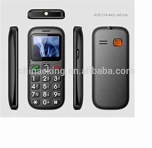 dual sim sos key loud speaker big button senior citizen With cell phones with large numbers and letters