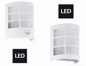 Led Spots Außenbeleuchtung : led aussenleuchte wandleuchte sensor wei eglo cerno aussenbeleuchtung aussenleuchten ~ Sanjose-hotels-ca.com Haus und Dekorationen