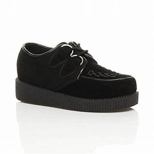 Zapatos Creepers Mujer