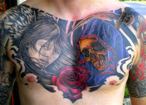 awesome chest tattoos  males tattoos