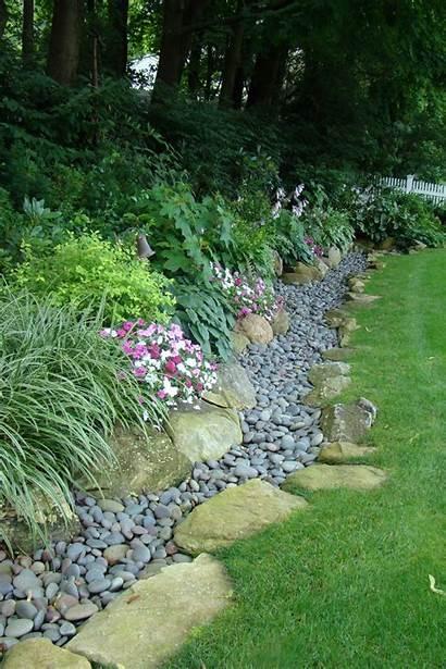 Edging Garden Rocks Creative Cheap Modern