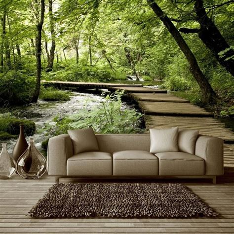 3d Wallpapers For Walls In Pakistan by Custom Photo Silk 3d Wallpaper For Walls 3 D Living Room