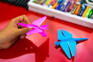how to fold an origami dragonfly for hub