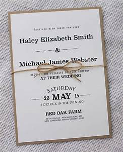 Simple wedding invitations best photos cute wedding ideas for Simple wedding invitations with pictures