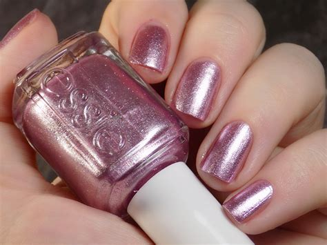 Essie Sil Vous Plait (pink Foil) Polish Swatches And Review