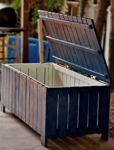 How To Make Diy Outdoor Storage Benches