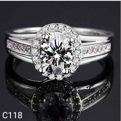 jual beli cincin lapis perak silver 925 batu cubic