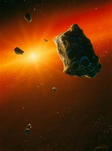 Planetesimal Asteroids In The Early Solar System ...