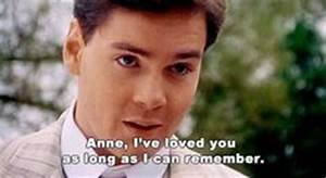 Gilbert Blythe♥ Anne of Green Gables. | Book Quotes ...