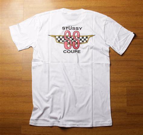 jual kaos tshirt skate stussy coupe white premium di lapak golden storebdg adhimas hardiansyah