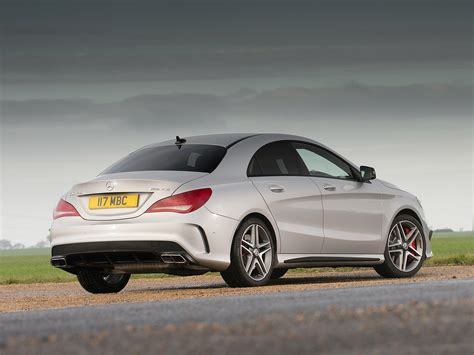 The cla 45 s 4matic+ shooting brake requires just 4.0. MERCEDES BENZ CLA 45 AMG - 2013, 2014, 2015, 2016 - autoevolution