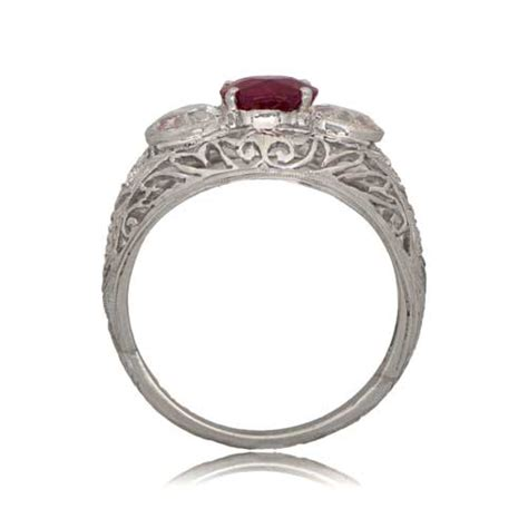 ruby ring estate jewelry
