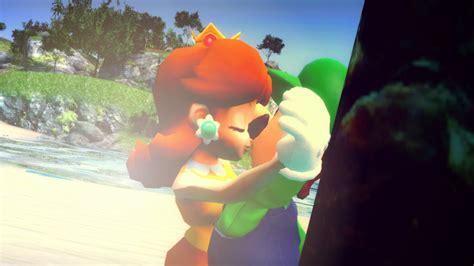 Daisy Kissing Luigi By Obeth0 On Deviantart