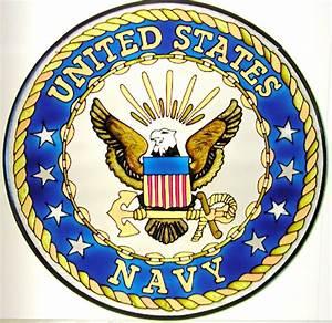Navy Emblem~counted cross stitch pattern #2128~Patriotic ...