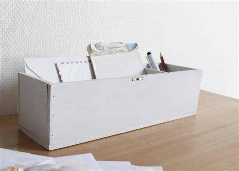 boite bureau boîte en bois pour bureau luckyfind