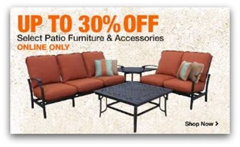 home depot patio furniture deals up to 30