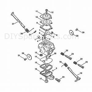 Stihl 020 Chainsaw  020t  Parts Diagram  Carburetor C1q