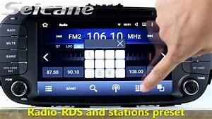 8 Inch 2014 Kia Soul Gps Radio Dvd Player Navigation