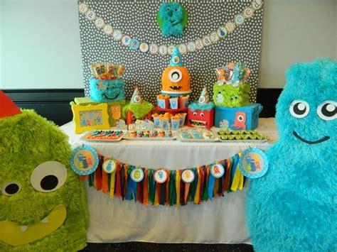 karas party ideas monster bash party cute ideas