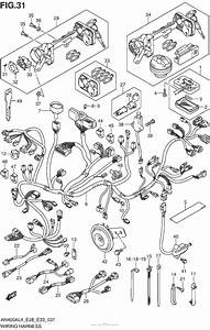 Wiring Harness For 2014 Suzuki An400