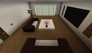 Minecraft Möbel Bauen : modernes wohnzimmer minecraft bauideen ~ A.2002-acura-tl-radio.info Haus und Dekorationen