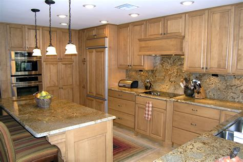 Light Brown Kitchen Cabinets  Nepinetworkorg