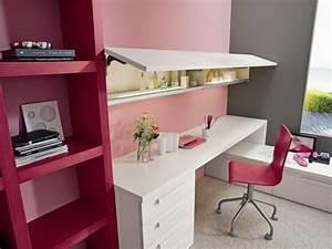 Bureau Chambre Ado Fille : bureau pour chambre ado bureau d angle fille eyebuy ~ Dallasstarsshop.com Idées de Décoration
