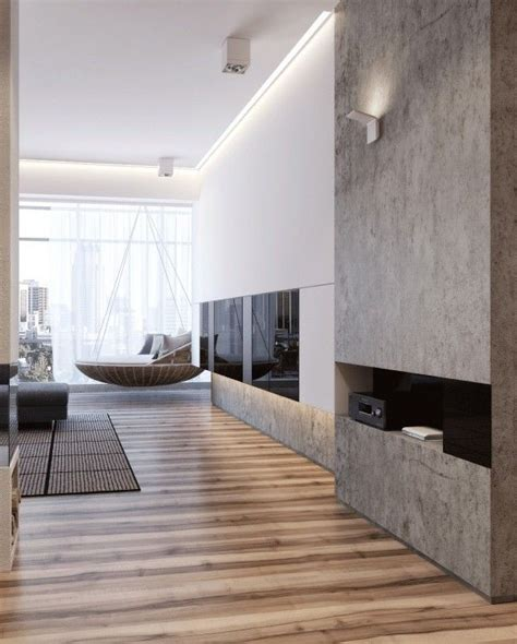 Two Apartments With Sleek Grayscale Interiors by Two Apartments With Sleek Grayscale Interiors 12 Houz