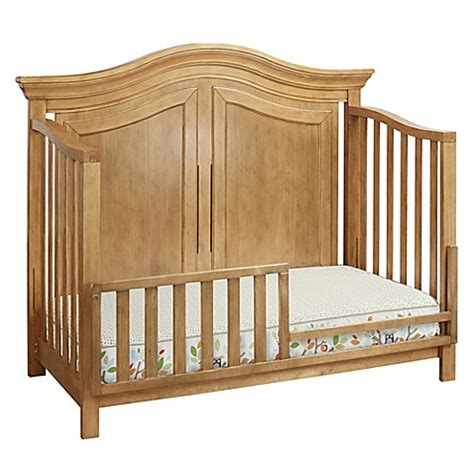 sorelle providence crib sorelle providence toddler guard rail in vintage