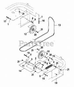 Exmark Parts On The Common Engine Deck Group Diagram For