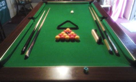 small slate pool table 7x4 slate bed pub pool table for sale in longford town