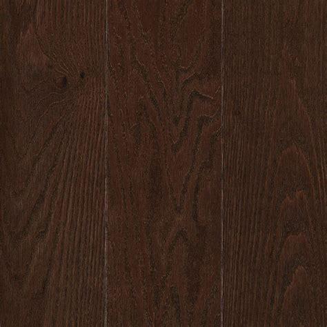 chocolate wood floors mohawk raymore oak chocolate 3 4 in thick x 5 in wide x random length solid hardwood flooring