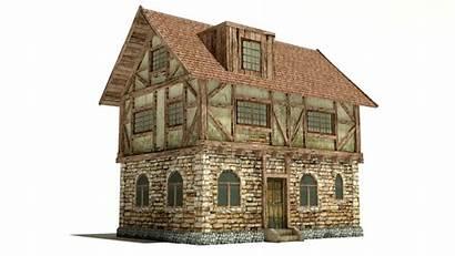 Medieval Models Casa Dirtiness Stl Texture Buildings