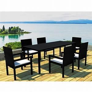 Ensemble Table De Jardin : ensemble table de jardin maison design ~ Teatrodelosmanantiales.com Idées de Décoration