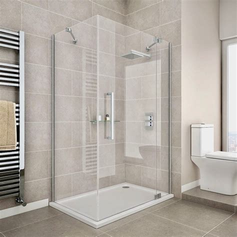 New Shower Door by Mariette39s Back To Basics Our New Shower With Dreamline