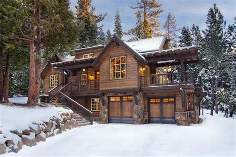 cabins in tahoe sunnyside cabin at lake tahoe rustic exterior san