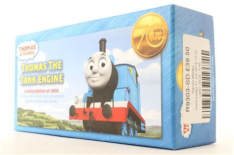 hattons co uk hornby r9303 sd the tank engine 70th anniversary locomotive limited
