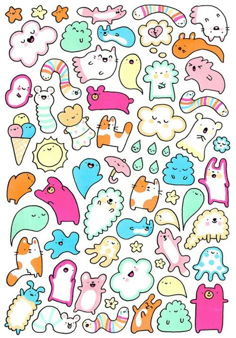 Best Kawaii Doodles Ideas And Images On Bing Find What You Ll Love