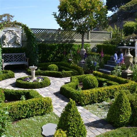 Small Formal Garden  Gardening Pinterest